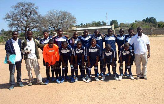 Puledi High School soccer team