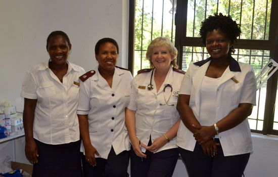 Phelwana Clinic Staff