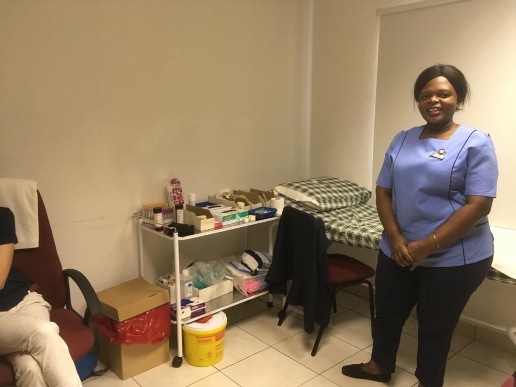 Helping those in need of health care – thank you Sister