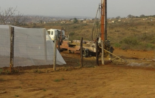 Borehole Drilling Commences At The Nhlayiseko Old Age Home