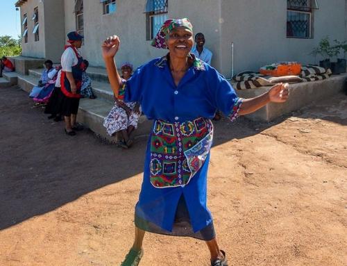Nhlayiseko Old Age Home Kitchen